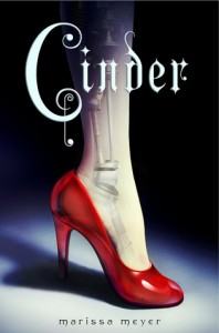"The cover of ""Cinder"" by Marissa Meyer"