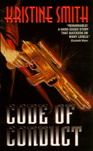The cover of Code of Conduct by Kristine Smith