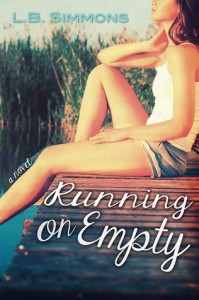 The cover of Running on Empty by L.B. Simmons
