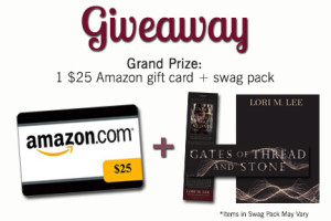 Gates of Thread and Stone giveaway! Win a $25 Amazon gift card PLUS swag!